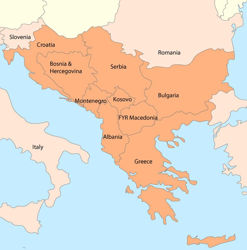 albanie geographie